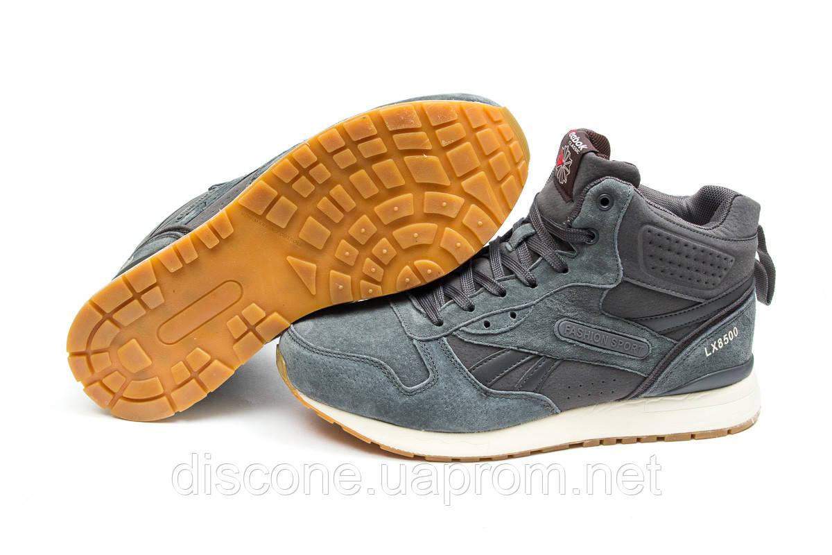Зимние ботинки ► Reebok Classic,  серые (Код: 30212) ►(нет на складе) П Р О Д А Н О!