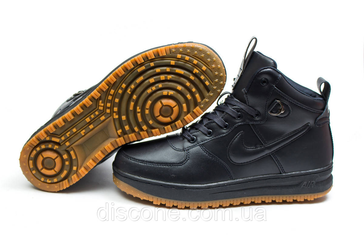 Зимние кроссовки ► Nike Air,  темно-синие (Код: 30223) ►(нет на складе) П Р О Д А Н О!