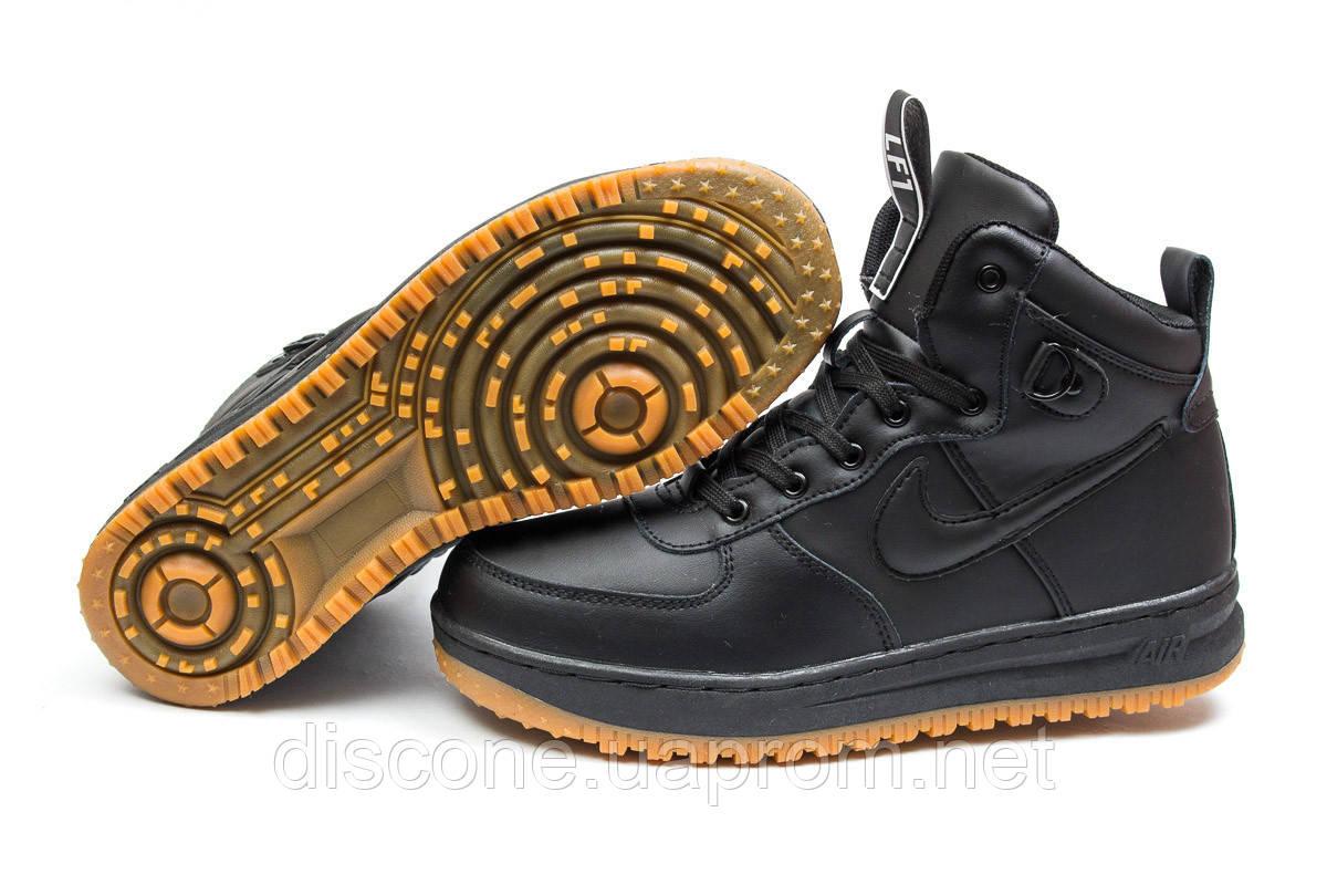 Зимние кроссовки ► Nike Air,  черные (Код: 30224) ►(нет на складе) П Р О Д А Н О!