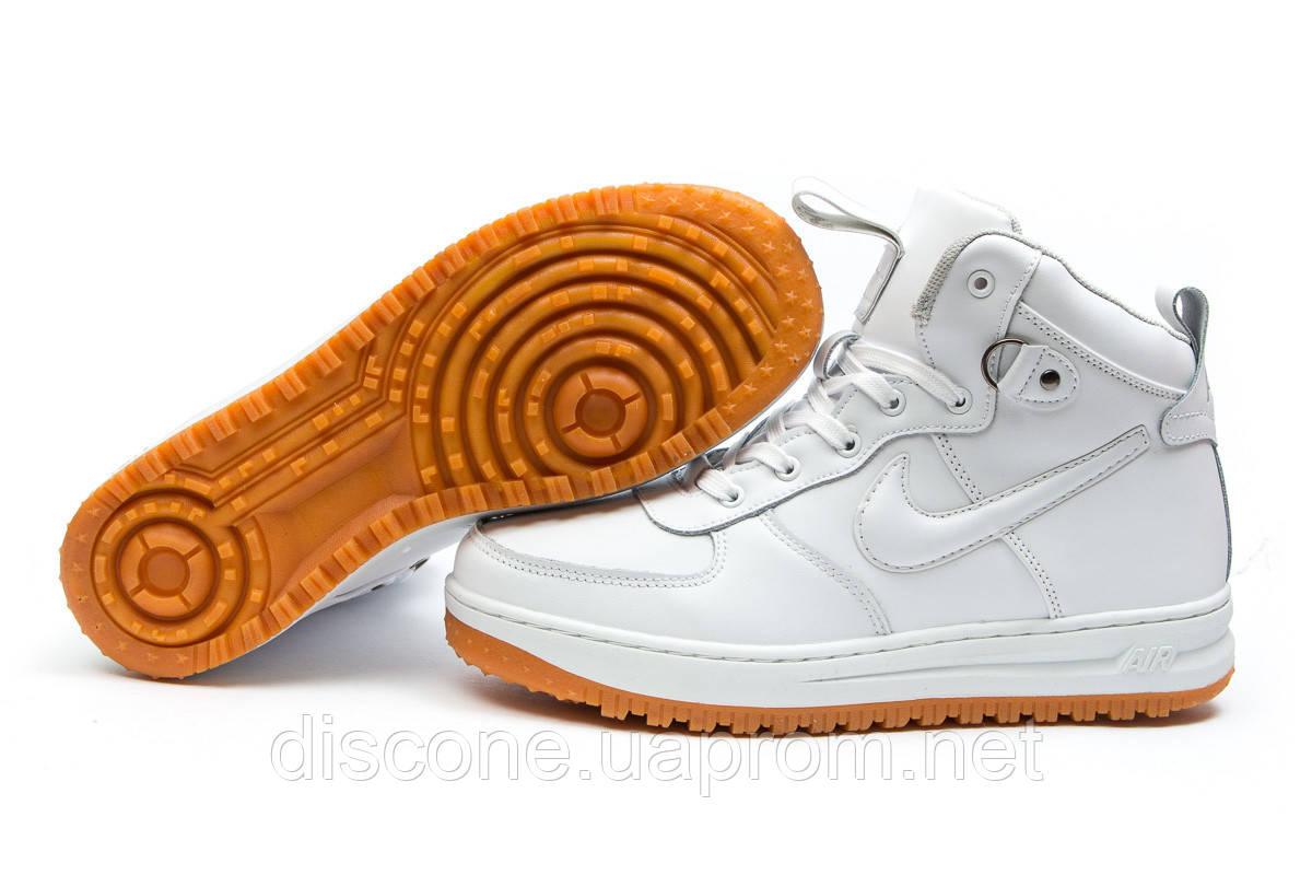 Зимние кроссовки ► Nike Air,  белые (Код: 30221) ►(нет на складе) П Р О Д А Н О!