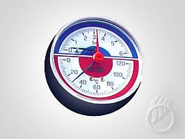 Термоманометр для котлов STROPUVA