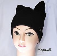 Стильная шапка с ушками