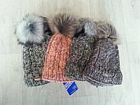 Зимняя подростковая теплая шапка на флисе (Польша), фото 1