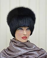 """Женская меховая шапка из ондатры """"Водопад"""""""