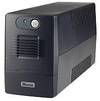 ИБП Mustek PowerMust 800 EG Line Int, 2xSchuko (800-LED-LIG-T10)