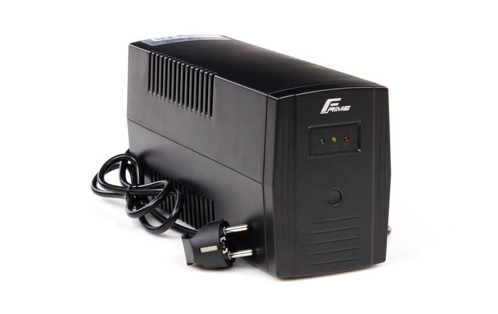 ИБП Frime Standart 650VA (FST650VAPU); пластик.корпус, USB,  розетки: 2 х евро