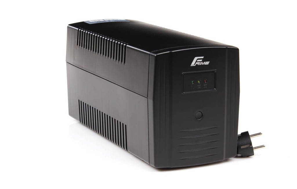 ИБП Frime Standart 1200VA (FST1200VAP); пластик.корпус, розетки: 3 х евро