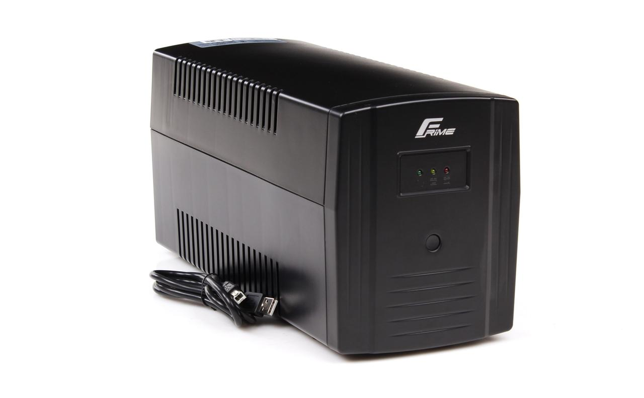 ИБП Frime Standart 1500VA (FST1500VAPU); пластик.корпус, USB,  розетки: 3 х евро