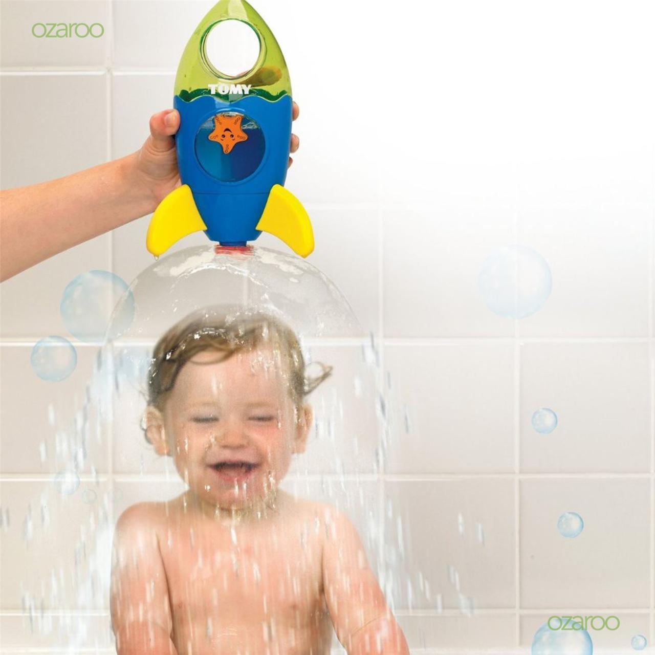 Игрушка для ванной ракета фонтан Tomy, E72357