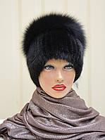 """Женская меховая шапка из ондатры """"Колибри"""", фото 1"""