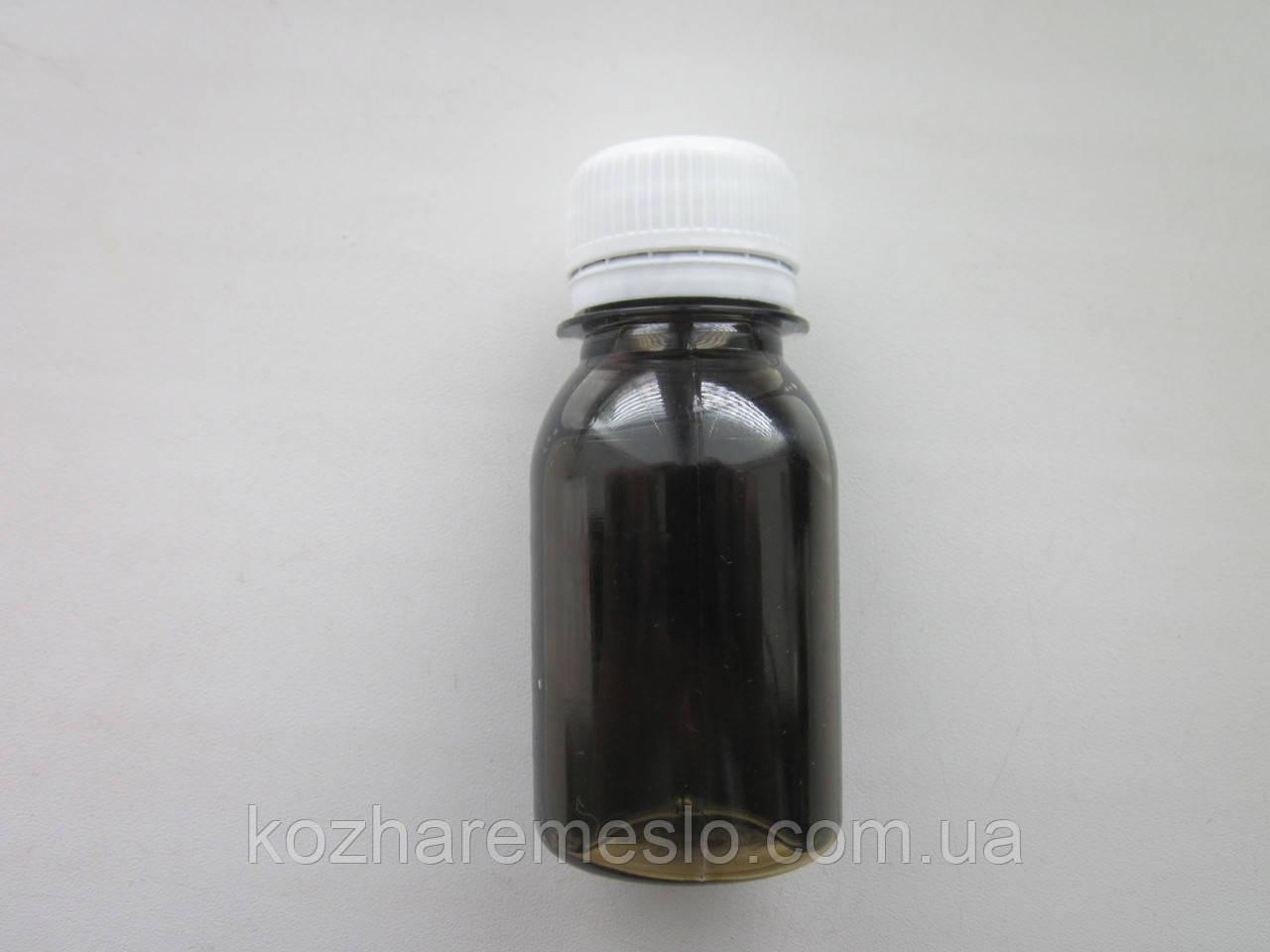Аппретура для кожи на водной основе 30 мл коричневая сильный глянец