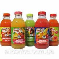 Сок натуральный  Dizzy ассортимент 330 ml.