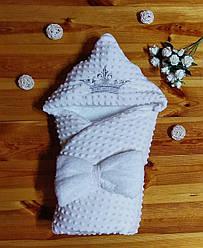 Конверт-одеяло на выписку Минки (Осень-Зима)