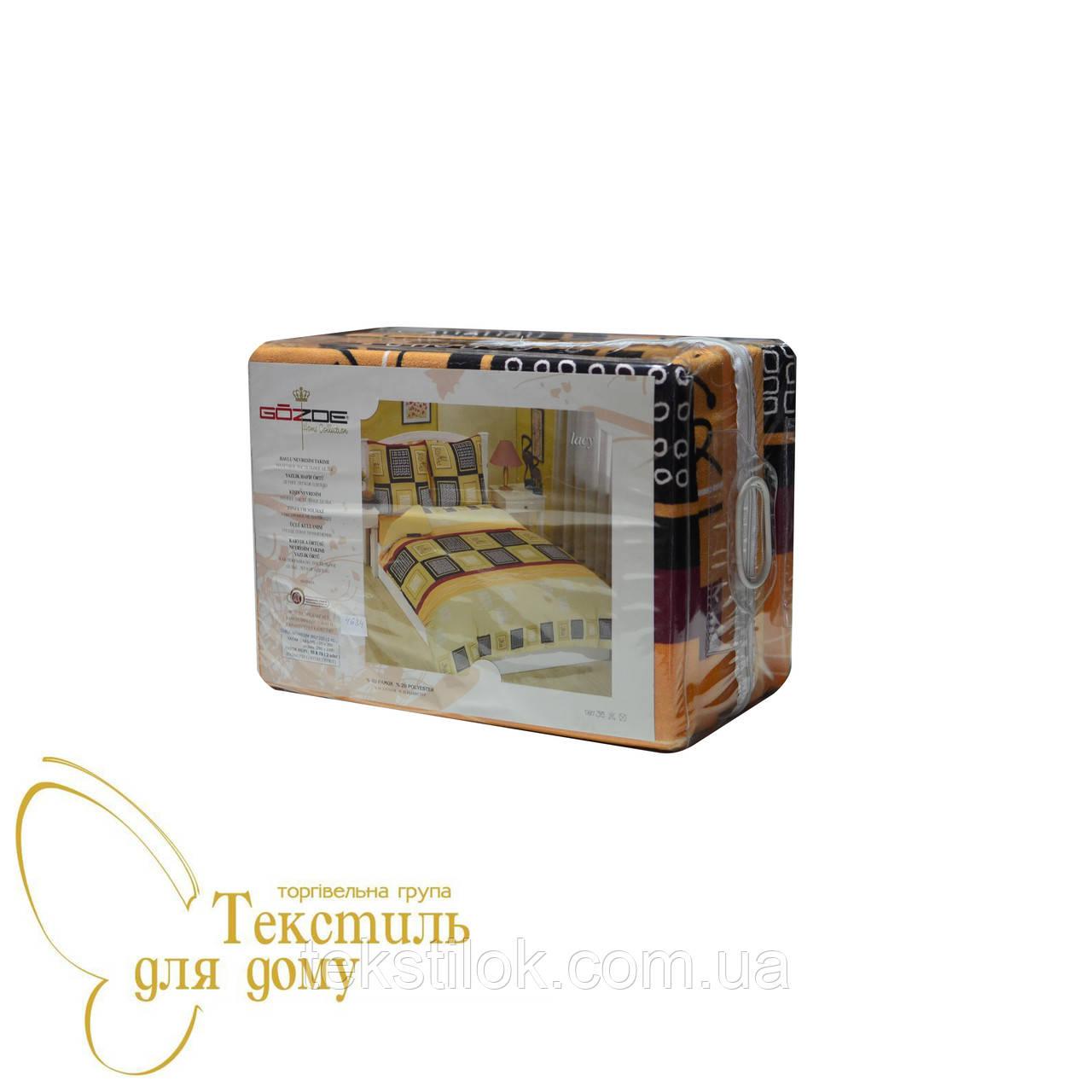 Комплект постельного белья махровый GOZDE Lacy