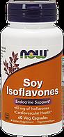 Соевые изофлавоны / NOW - Soy Isoflavones 150mg (60 caps), фото 1