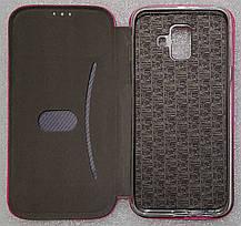 Чехол книжка LEVEL (Kira) Samsung Galaxy A6 2018 (A600) pink, фото 3