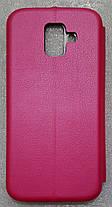 Чехол книжка LEVEL (Kira) Samsung Galaxy A6 2018 (A600) pink, фото 2