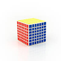 Кубик Рубика 6x6 MoYu MF6 белый пластик, цветные наклейки