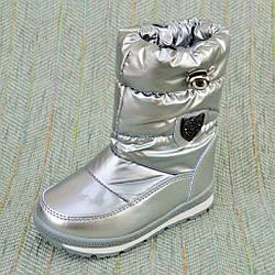 Дитячі термо черевики, дівчинка Tom.m розміри: 27