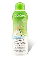 """Увлажняющий кондиционер TropiClean Lime & Cocoa Butter """"Лайм и масло Какао"""", 355 мл"""