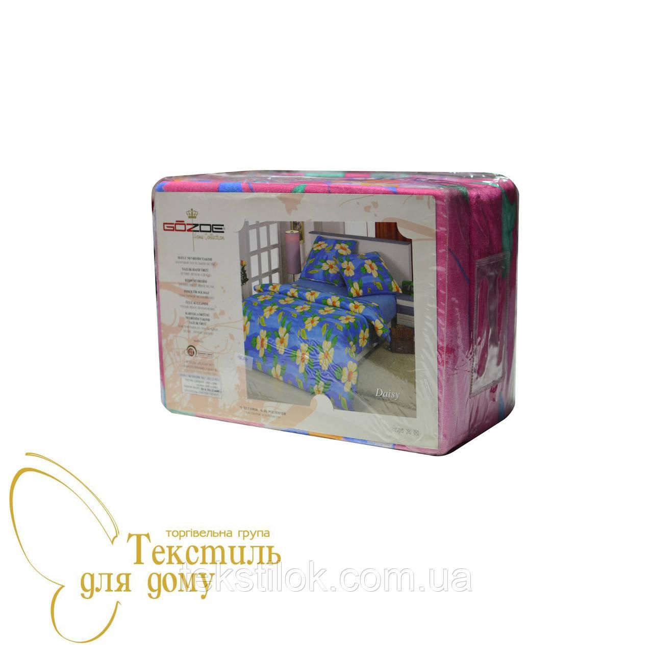 Комплект постельного белья махровый GOZDE Daisy