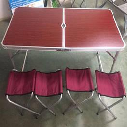 Стол для пикника + 6 стульев Стіл для пікніку + 6 стільців