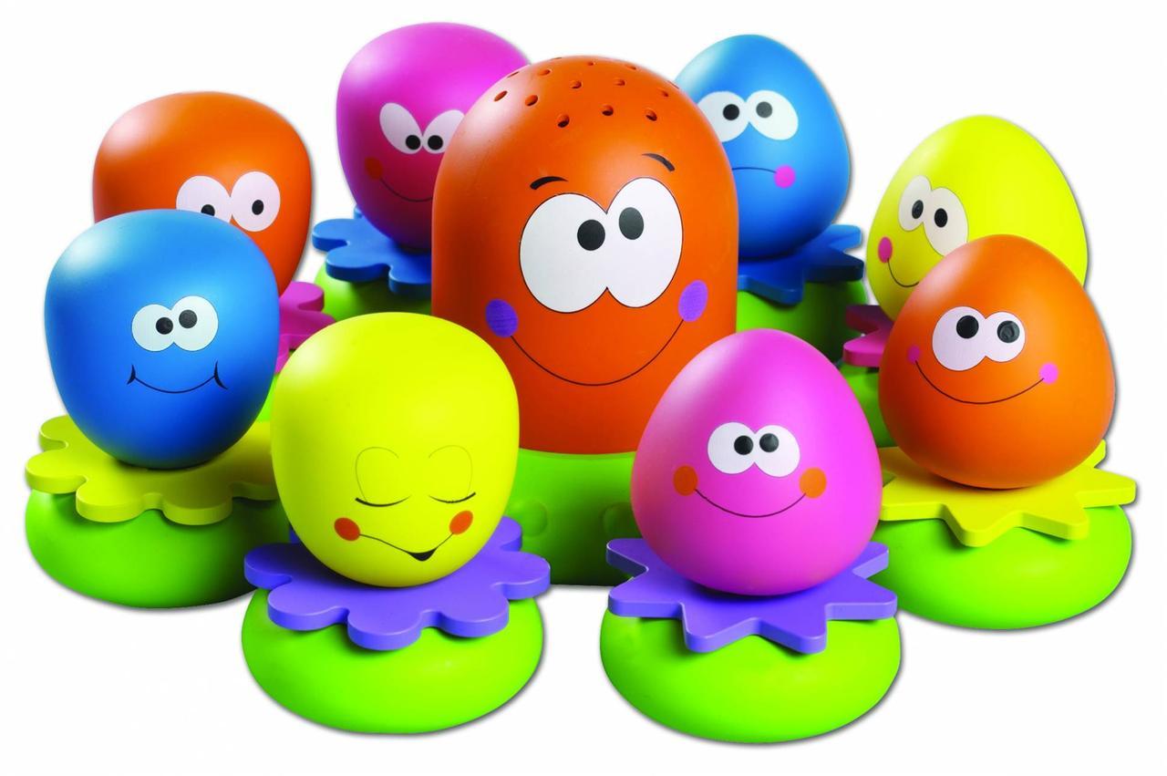 Игровой набор для ванны Tomy Друзья Осьминоги E2756