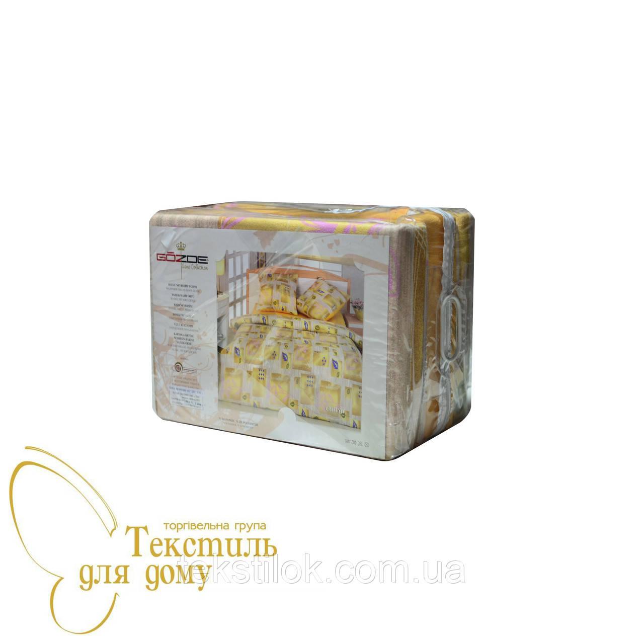 Комплект постельного белья махровый GOZDE Cansu