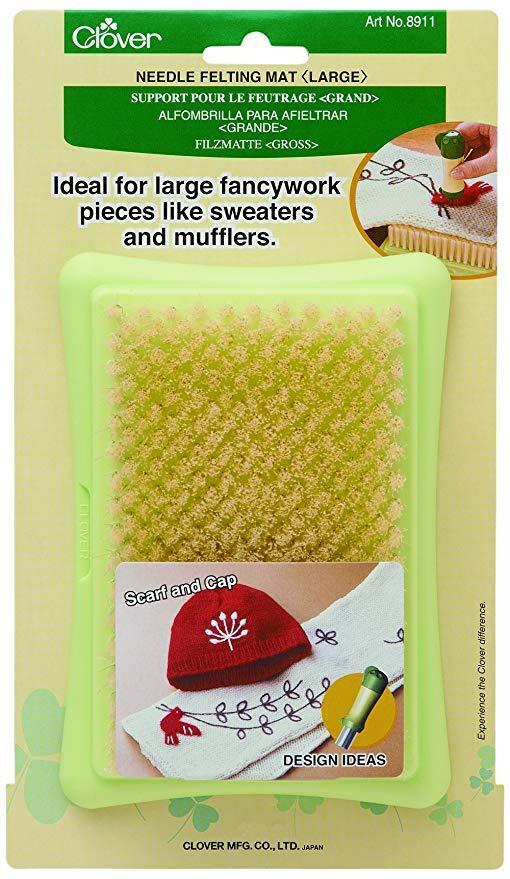 Щетка-подушка для фильцевания Clover 8911, большая (8 x 13 см)