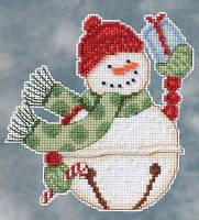Набор для вышивки Mill Hill Freezy Snowbell