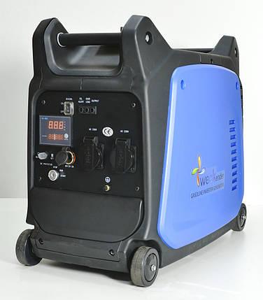 Генератор-інвертор Weekender 3,5 кВт X3500ie електрозапуск, фото 2