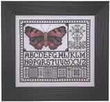 Схема для вышивки Rose Watercolor Butterfly, фото 2