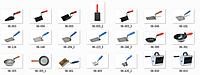 Кельмы, мастерки, инструмент штукатура