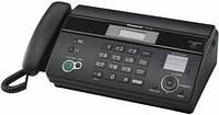 Тел/факс PANASONIC KX-FT982UA-B АОН, Caller ID; Автообрезка - нет; Печать на термобумаге; Автоподатчик на 10 листов; Функция копирования; Прием факсов