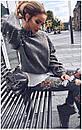 Свитер объемный рукав с бусинами в стиле ZARA, фото 4