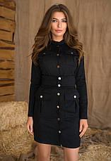 Женское платье из замши №438, фото 3