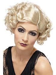 Волнистый парик девушки 20-х годов Smiffy's'