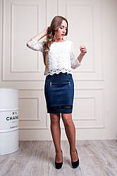 """Женская юбка """"Лиза"""" размеры 42-52"""