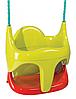 Качели детские подвесные 2в1 Smoby (310194) с защитой качеля для детей