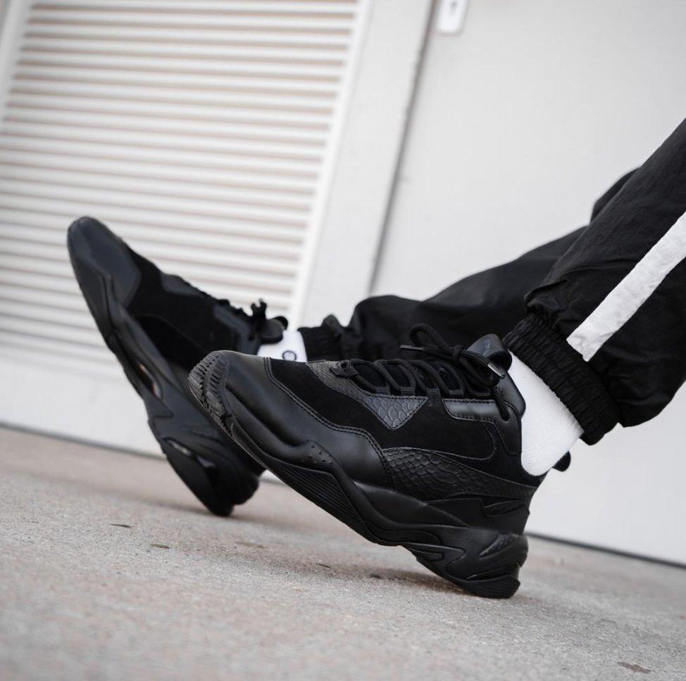 b8978515ac91c0 Мужские кроссовки Puma Thunder Spectra Triple Black ( Реплика ) - Urban  Style в Киеве