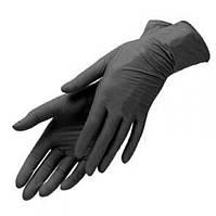 Перчатки нитриловые черные Abena