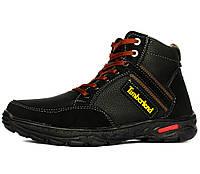 b2d4f081e0e952 42р Чоловічі зимові черевики на шнурівку і блискавку (СБ-16чк)