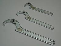 Ключ для круглых шлицевых гаек 120-180мм AEEX1AА8 Toptul.