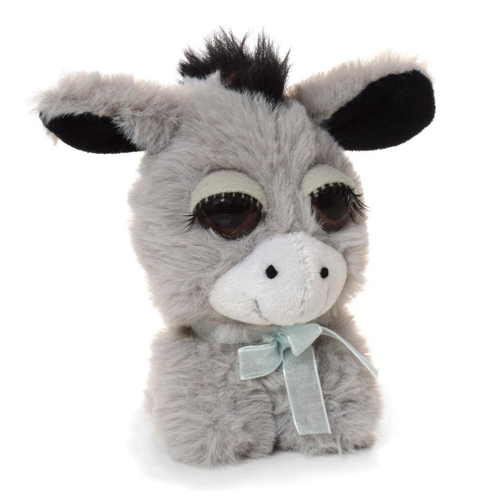 Мягкая игрушка MET10097 (600шт) ослик, 12см, упаковка 12шт в кульке