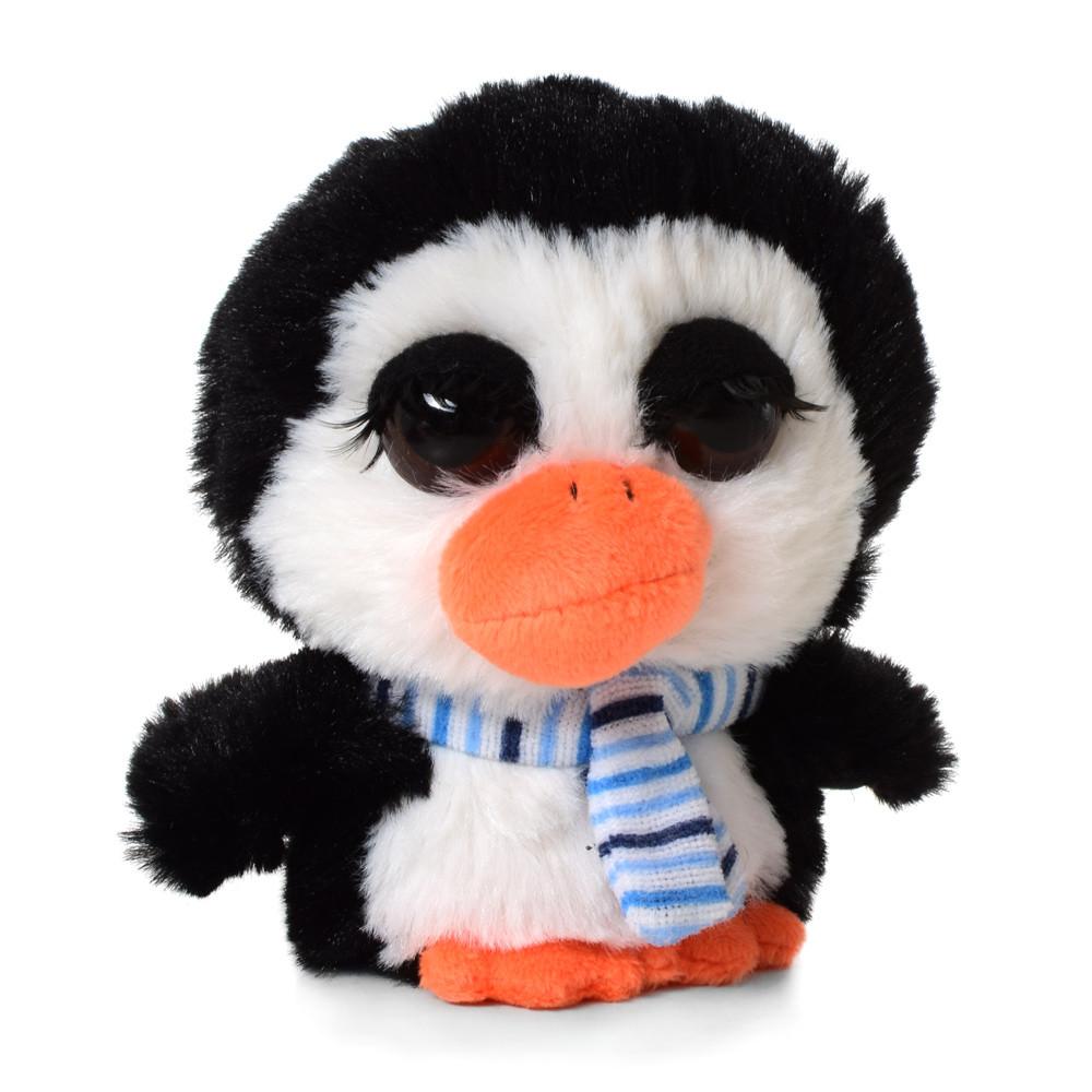 Мягкая игрушка MET10107 (600шт) пингвин, 12см, упаковка 12шт в кульке