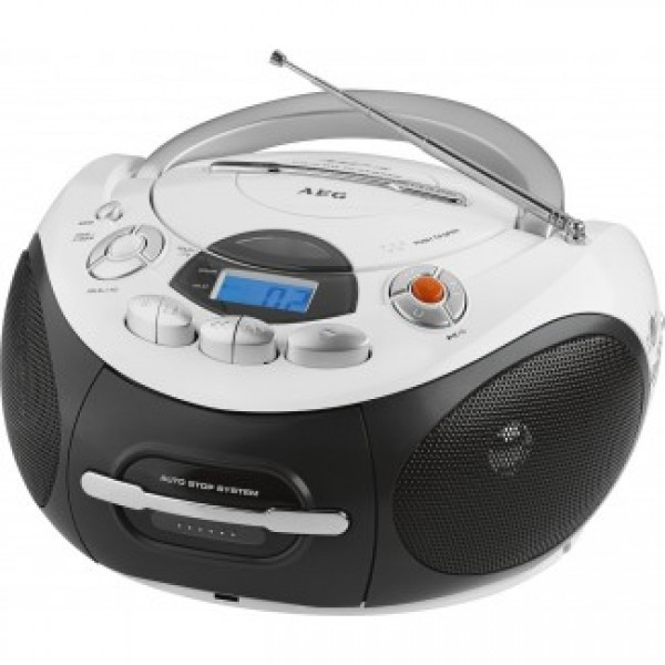 Radiomagnetofon CD/MP3 AEG SR 4353 (biały)