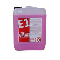 Средство для ежедневной очистки санитарных помещений E1 UNI san 10 л