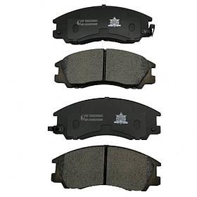 Колодки тормозные Mercedes Sprinter 2006- (4.6-5t) задние KEMP