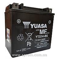 Мотоаккумулятор Yuasa YTX14-BS свинцово-кислотный