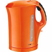 Электрочайник оранжевый CLATRONIC WK 3445